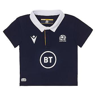 Macron Scoția Rugby Baby Home Replica Shirt | Marina | 2020/21