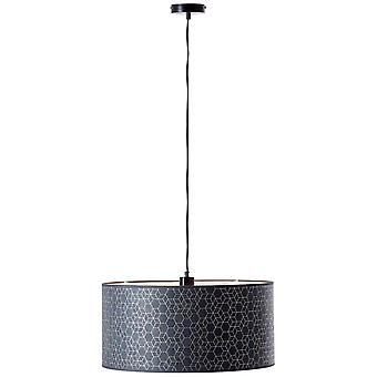 BRILLIANT Galance Hanglamp 1flg Zwart binnenverlichting, hanglampen | 1x A60, E27, 40W, geschikt voor normale lampen