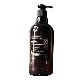 Nordic Style Brown Bath Refillable Bottle