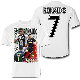 T-shirt Ronaldo Portugal & Juventus sport trui