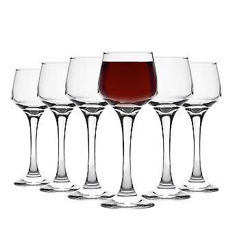 Vajilla de argón jerez / vidrios de licor - 80ml (2.8oz) - caja de regalo de 6