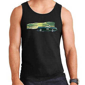 Austin Healey 20 Green British Motor Heritage Men's Vest