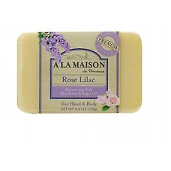 A La Maison Bar Săpun Rose Lilac, 8.8 Oz