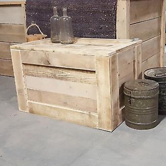 Wood4you - Spielzeugbox Abbruch Holz 80Lx50Hx50D cm