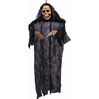 Forum uutuudet Halloween Naamiaispuvun tarvikkeet - Kallo blow muotti kädet roikkuu sisustus 3ft