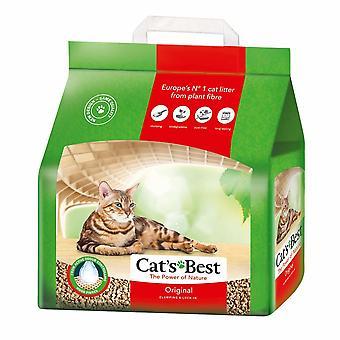 القطط أفضل الأصلي تكتل النباتات القائمة على القمامة القط