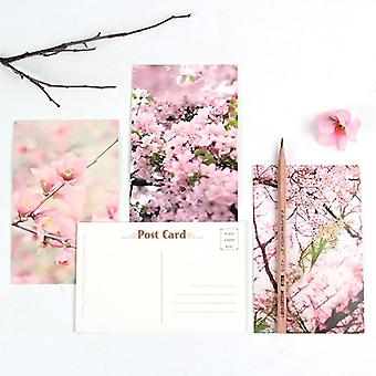 Creative Peach Blossom Greeting / Message Card