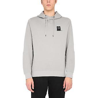 Ma.strum Mas4421m018 Men's Grey Cotton Sweatshirt