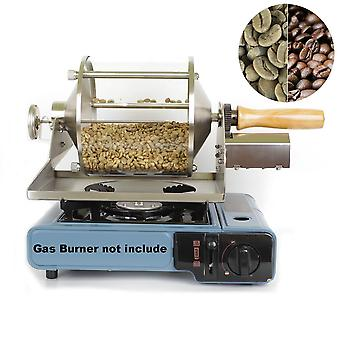 Small Household Fuel Gas Coffee Beans, Baking Machine, Direct Fire Roaster,