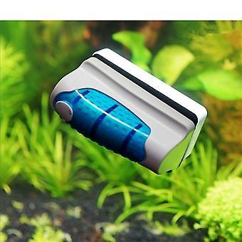 Brosse magnétique de nettoyeur de verre de réservoir de poissons d'aquarium
