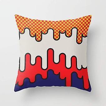 Lichtenstein Throw Pillow Cover