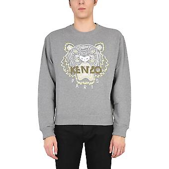 Kenzo Fb55sw1104xa95 Men's Grey Cotton Sweatshirt
