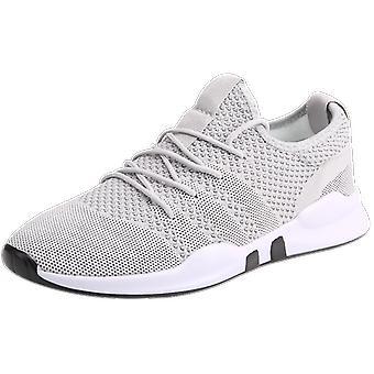 Zomer Casual ademende mesh schoenen mannen sneakers Lace Up