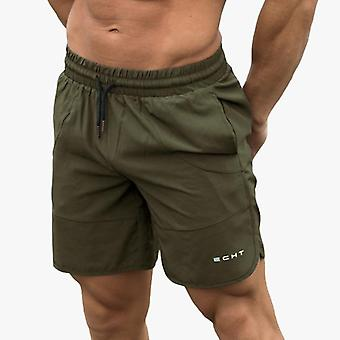 New Gyms Fitness Loose Shorts Bodybuilding Joggers Casual Beach Sweatpants