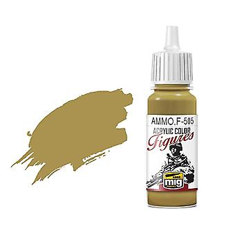 Ammo by Mig Figure Paints F-505 Pale Yellow Green FS-33481