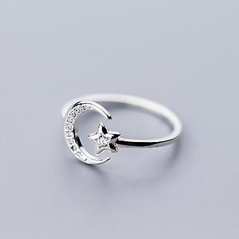 Moon Star Ring