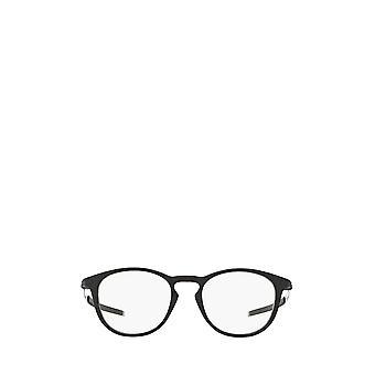 أوكلي OX8105 الساتان النظارات الطبية الذكور السود