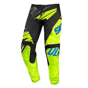 2020 Shot Devo MX Pants Kids - Ventury Neon Geel Zwart