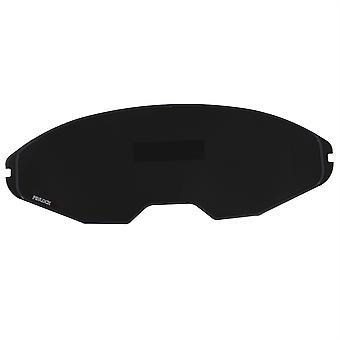 100% Max Vision Pinlock 70 Fog Resistant Lens Dark Smoke - Airoh Commander