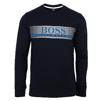 Hugo boss men's navy authentic sweatshirt