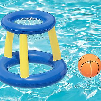 Bestway Splash N Hoop Inflatable Floating Basketball Swimming Pool Game Set