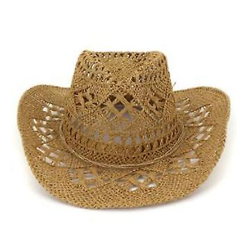 Stroh westlichen Cowboy Hut handgemachte Strand Filz Sonnenhüte Party Cap für Mann/Frau