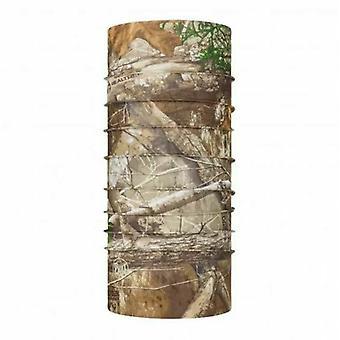 Buff CoolNet UV Balaclava Bandana Gezichtsmasker Hoed Hals Buisvormige Sjaal - Edge Brown