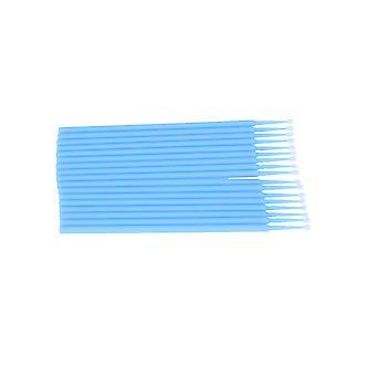 100st Bomullspinne Engångs micro ögonfrans applikatorborstar för kosmetiska