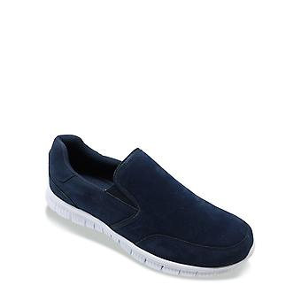 Cushion Walk Mens Wide Fit Trainer Slip On With Memory Foam