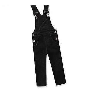 Suspender Trousers  Cowboy Overalls Jeans