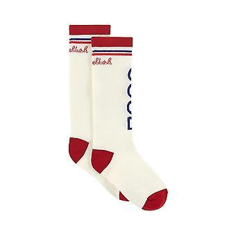Billieblush tytöt valkoinen raidallinen sukat u10356/97g