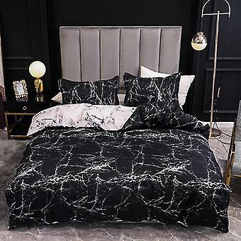 Мраморный супер король размер кровать лист ( Установить 2)
