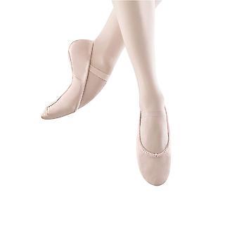 Bloch Womens Dansoft Leather Low Top Slip On Ballet & Dance Shoes