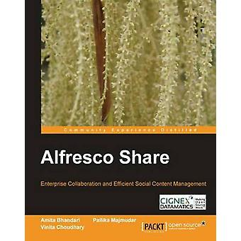 Alfresco Share by Amita Bhandari - 9781849517102 Book