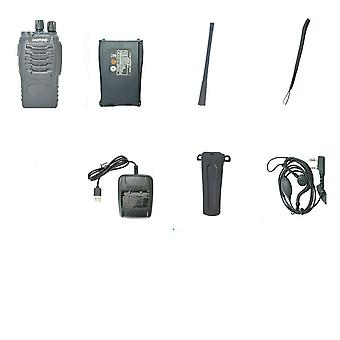 Walkie Talkie Portable Radio Station Bf888s 5w Comunicador Transmitter