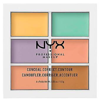 NYX  Contouring Corrector Palette 6 Shades