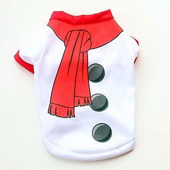 Christmas Dog Clothes Cotton Pet Clothing