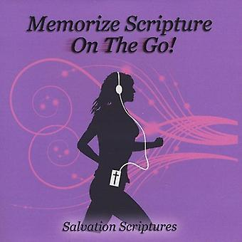 Memorize Scripture-on the Go! - Salvation Scriptures [CD] USA import