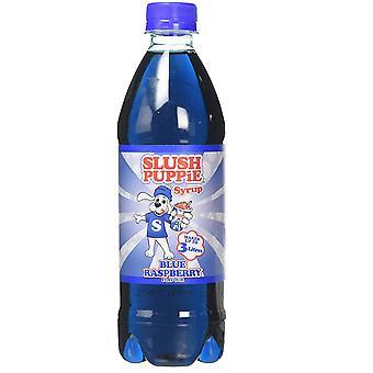 Sjap hvalpesirup - blå hindbær