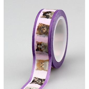 Cute Dog And Cat Washi Tape Set Masking Tapes Stickers