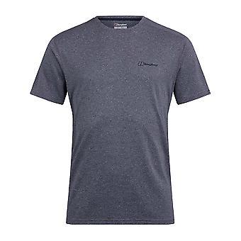 Berghaus Explorer Tech hombres manga corta base camiseta al aire libre camiseta azul
