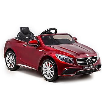 Mercedes S63 elektrische kinderauto - rood