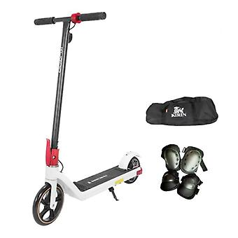 Kugoo Kirin Mini 2 Elektrische Smart E Step Scooter für Kinder Off-Road - 150W - 15 km / h - 6Ah Batterie - 8,5 Zoll Räder weiß
