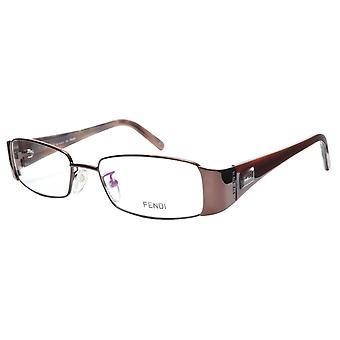 FENDI Eyeglasses Frame F892 (212) Metal Acetate Bronze Italy Made 52-17-135, 28