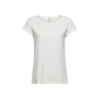 edc by Esprit 041CC1K325 T-Shirt, White (110), M Woman