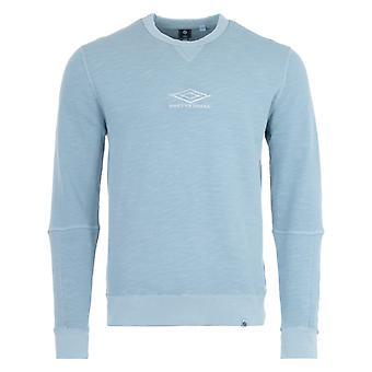 Pretty Green x Umbro Crew Neck Sweatshirt - Blue