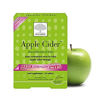 New Nordic, Apple Cider Mega Strength One a Day, 30 Tablets
