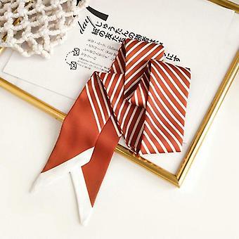 Women's Narrow Fashion Long Strip Arm Bag Ribbon Neckerchief
