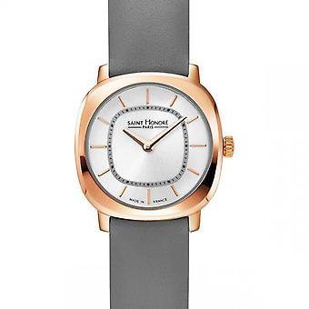 Women's Watch Saint Honor Paris AUTEUIL Mini - 7170908AIR-G Grey Leather Strap