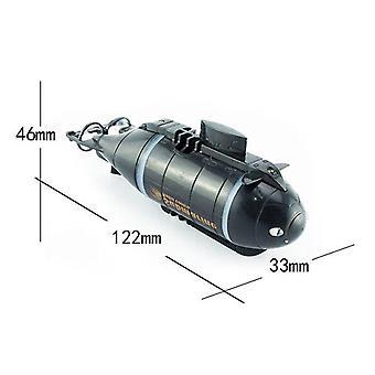Mini Rc Submarino, Controle Remoto de Lancha, Simulação de Pigboat, Brinquedo Modelo,